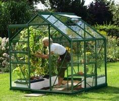 VITAVIA skleník VITAVIA VENUS 3800 číre sklo 3 mm zelený