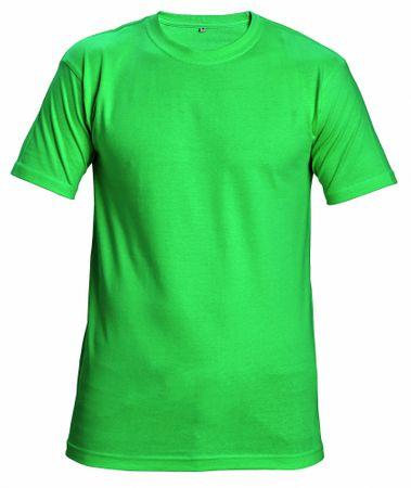 e5a881086a10 Červa Bavlnené tričko s krátkym rukávom Garai zelená M