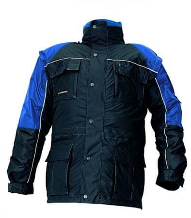 Stanmore Zimná nepremokavá bunda 3v1 pánska modrá L