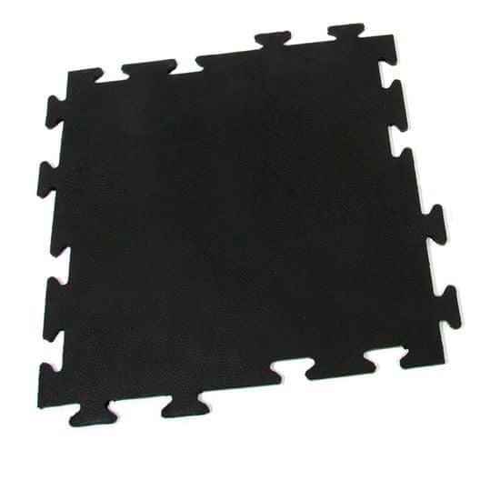 FLOMA Gumová protiúnavová modulární rohož Flat Tile - 50 x 50 x 0,8 cm
