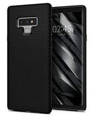 Spigen Liquid Air ovitek za Samsung Galaxy Note 9, mat črn - Odprta embalaža