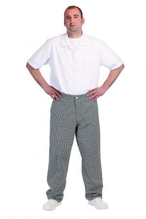 Červa PEPITO řeznické kalhoty bílá 58