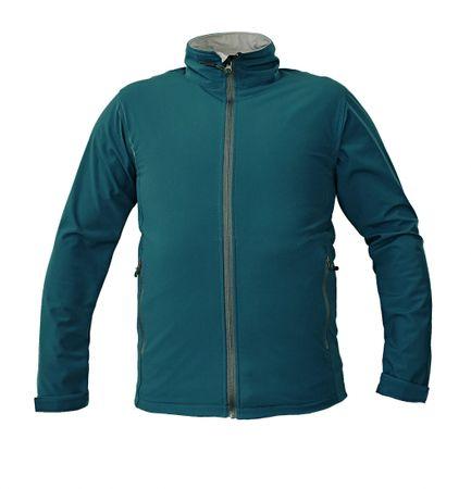 CRV NAMSEN softshellová bunda zelená S