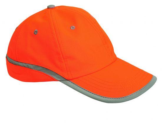 Cerva TAHR baseballová čepice oranžová