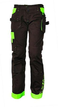 CRV YOWIE kalhoty hnědá/zelená 38
