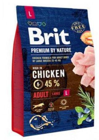 Brit hrana za pse Premium by Nature Adult L, 3 kg