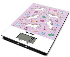 Salter Digitálna kuchynská váha dizajn jednorožci