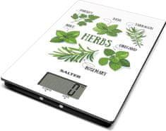 Salter Digitálna kuchynská váha design bylinky