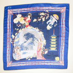 VERSACE 19.69 női sötétkék Geisa Dream kendő