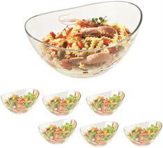 Vidivi set staklenih zdjela PAPAJA, 6 + 1