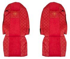 F-CORE Poťahy na sedadlá FX10, červené