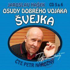 Hašek Jaroslav: Osudy dobrého vojáka Švejka (5 & 6) - KNP-2CD
