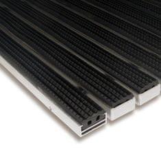 FLOMA Gumová hliníková venkovní vstupní rohož Alu Standard, FLOMA - 1,7 cm