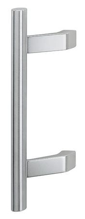 Hoppe jekleni in aluminijasti ročaj F69/F1 za vhodna vrata, 400/250 FI 30