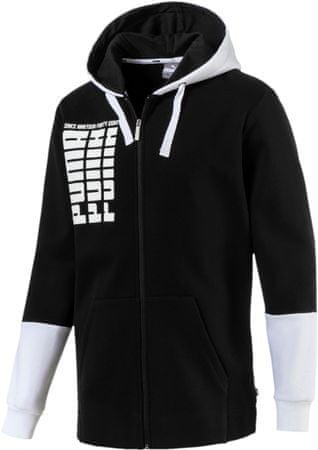 b786d02aad Puma Rebel Up Fz Hoody Fl Cotton Black M férfi pulóver | MALL.HU