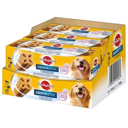 Pedigree hrana za pse Denta Stix TW Weekly L, 6 x 120 g