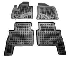 REZAW-PLAST Gumové koberce, súprava 4 ks (2x predné, 2x zadné), Hyundai Santa Fe II 2007-2012