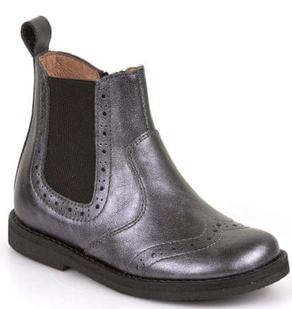Froddo dívčí kotníčkové boty 25 černá