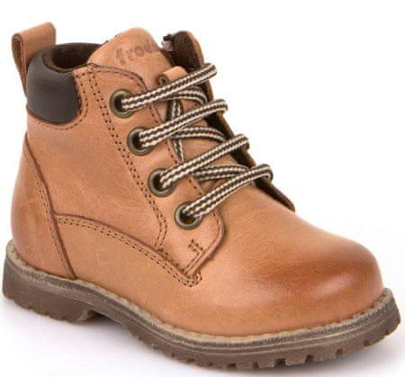 Froddo chlapecké kotníčkové boty 24 hnědá