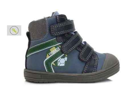 06a666f4d Ponte 20 chlapčenské kožené topánky Academy 22 modrá | MALL.SK