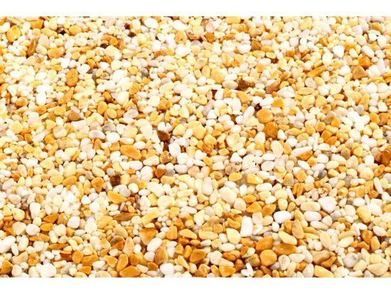 TOPSTONE Kamenný koberec Giallo Siena Stěna hrubost zrna 2-4mm