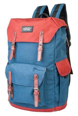 Target nahrbtnik Dorm Campus Ocean 21954, modro-rdeč
