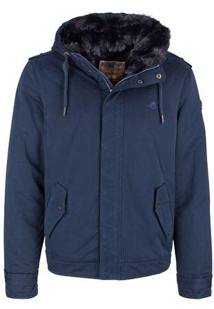 DreiMaster pánská bunda M tmavo modrá