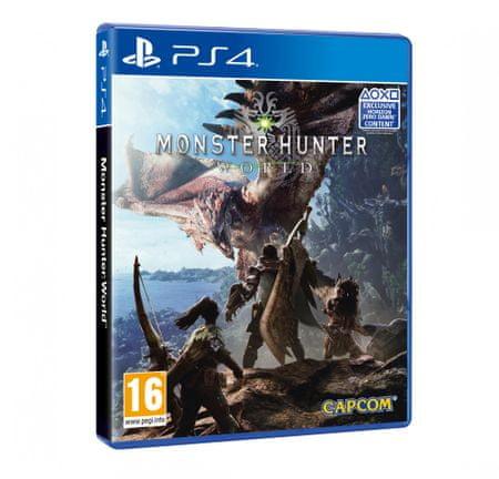 Capcom igra Monster Hunter World (PS4)