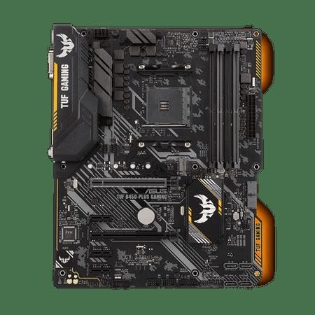 Asus osnovna plošča TUF B450-Plus gaming, DDR4, SATA3, USB 3.1 Gen2, HDMI, AM4 ATX