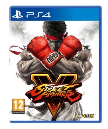 Capcom igra Street Fighter V (PS4)