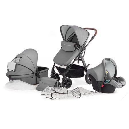 KinderKraft Kombinovaný 3v1 Moov Grey