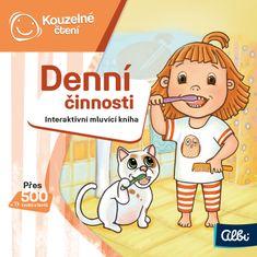 Albi KOUZELNÉ ČTENÍ Minikniha - Denní činnosti