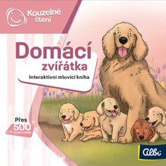 Albi KOUZELNÉ ČTENÍ Minikniha - Domácí zvířata
