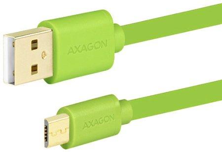 AXAGON BUMM-AM02QG, 0.2 m, zelený BUMM-AM02QG