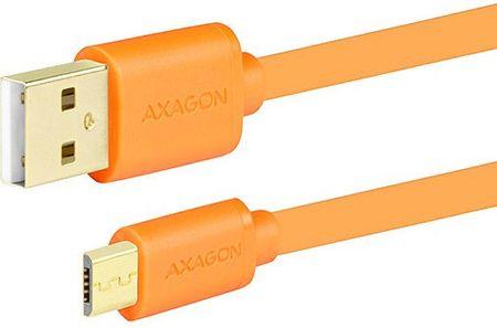 AXAGON BUMM-AM05QO, 0.5 m, narancssárga BUMM-AM05QO