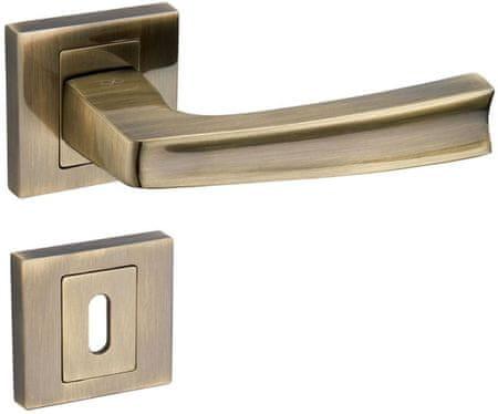 Infinity Line Cezar 400 patina - klika ke dveřím - pro pokojový klíč