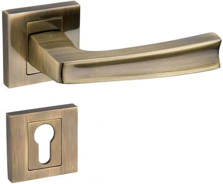 Infinity Line Cezar 400 patyna - okucia do drzwi - pod wkładkę bebenkową