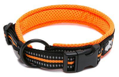 Truelove ovratnica Flex, XL, črna/oranžna