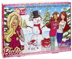 Mattel Barbie Adventní kalendář DMM61 - rozbaleno