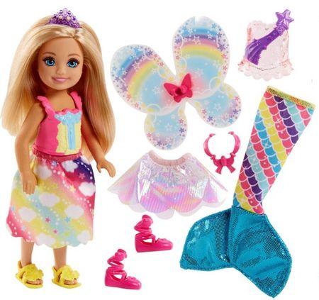Mattel Barbie Chelsea pohádkové oblečky