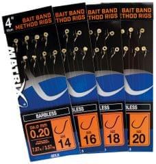 """Matrix Návazec 4"""" Bait Band Method Rigs"""
