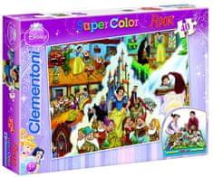 Clementoni Podlahové puzzle Sněhurka