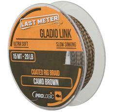 ProLogic Návazcová Šňůra Gladio Link Camo Brown 15 m