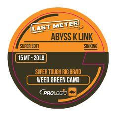 ProLogic Návazcová šňůrka Abyss K Link Weed Green 15 m