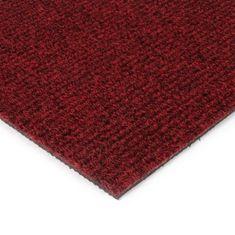 FLOMAT Červená kobercová vnitřní čistící zóna Catrine, FLOMAT - 1,35 cm