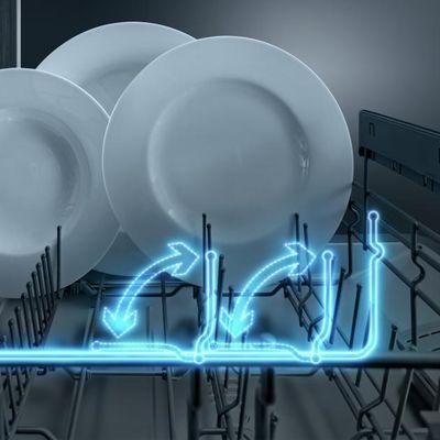 Vestavná myčka nádobí Bosch SPV46IX07E VarioFlex koše