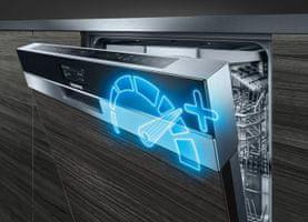 Plně vestavná  myčka nádobí Siemens SR635X01IE VarioSpeed Plus