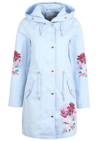 MyMo dámský kabát XL světle modrá