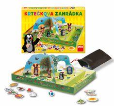 DINO Krtkova záhradka spoločenská hra v krabici 33x23x4 cm