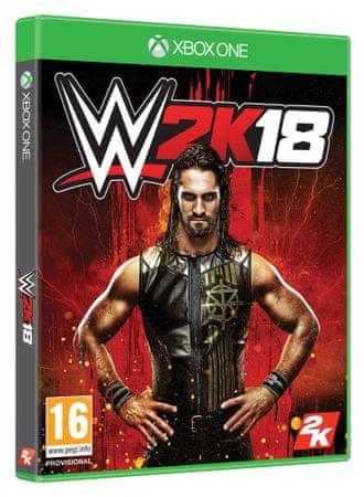 Take 2 WWE: 2K18 (Xbox ONE)